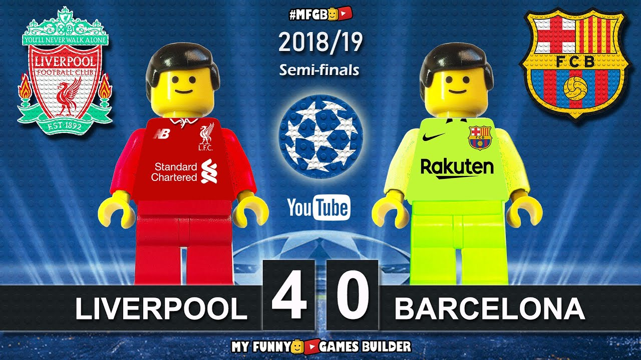 Liverpool Vs Barcelona 4 0 Champions League 2019 07 05