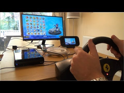 How to use a Steering Wheel & Pedals on the Wii U