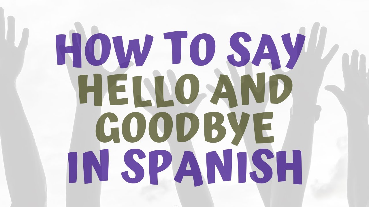 How U Say Good Morning In Spanish : How to say kiss in spanish seterms