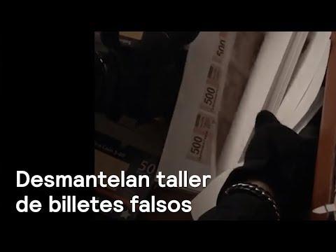 Desmantelan fábrica de billetes falsos en Iztapalapa - En Punto con Denise Maerker