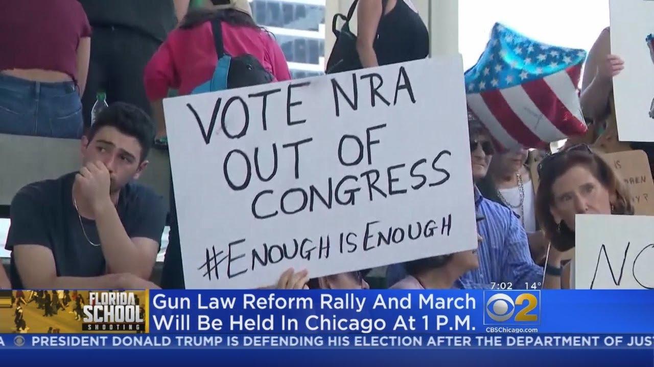 Hundreds To Rally For Gun Reform After Florida Shooting