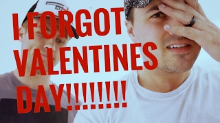 i forgot valentines day this year vlog