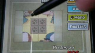 Professor Layton and the Diabolical Box Puzzle #015: Who Is Tom Really?