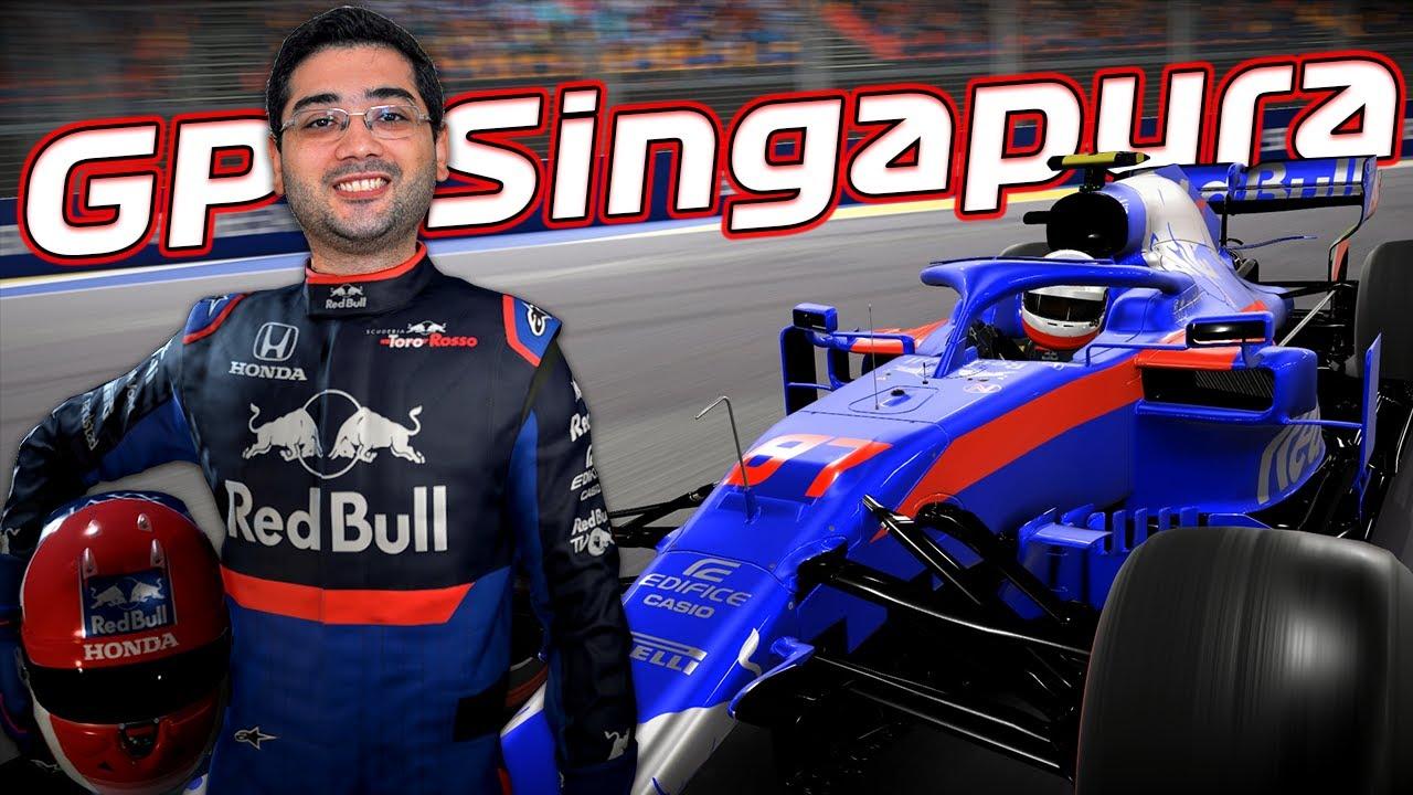 F1 2019 - MODO CARREIRA - PARTE 185 - SINGAPURA - PT-BR ...
