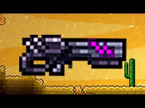 видео: terraria 1.3.3 // Ониксовый бластер (onyx blaster)