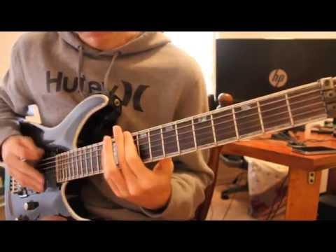 ERRA - Dreamwalkers (guitar cover) WITH TAB