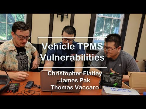 Vulnerabilities in Vehicle TPMS (Exploit & Hacking)