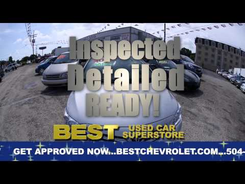 At Best Used Car Superstore near New Orleans You're Approved!