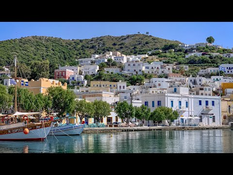 First days exploring the Greek island Leros in the middle of June 2020