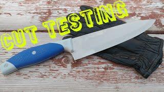 Cut Testing Police Duty Gloves