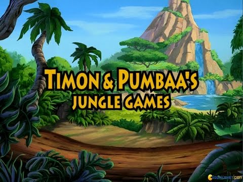 Timon & Pumbaas Jungle Games gameplay (PC Game, 1995)