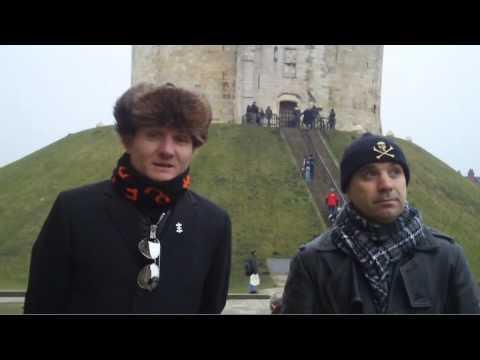 Nitzer Ebb - Douglas and Bon at Clifford's Tower, York
