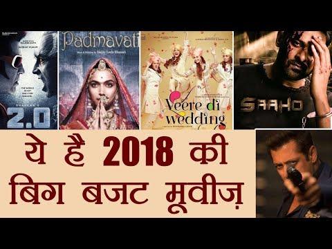Salman Khan, Aishwarya Rai Bachchan, Rajinikanth's films among Big Budget Movies of 2018 | FilmiBeat