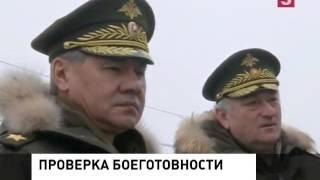 Министр обороны осмотрел военный городок в Хакасии
