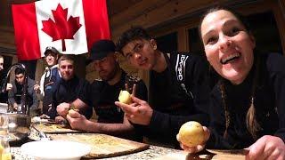 On cuisine avec les croutons au Canada, c'est le BORDEL ! 🇨🇦