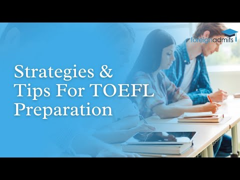 Ace TOEFL  with the TOEFL Master Class | LBS | Strategy & Tips | ETS | Foreignadmits