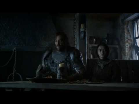 Arya Stark and The HoundRevenge Kill