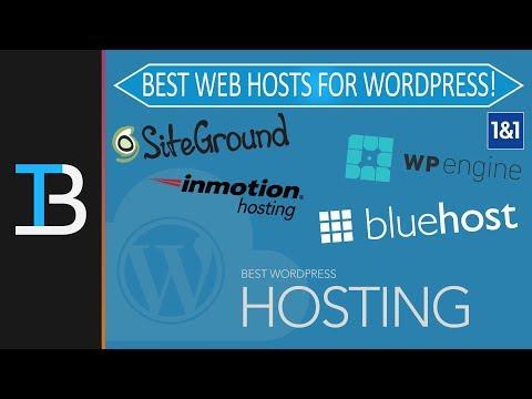 Top 5 Best Web Hosting for WordPress (2018)
