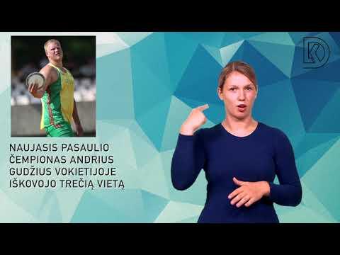 Naujasis pasaulio čempionas Andrius Gudžius Vokietijoje iškovojo trečią vietą