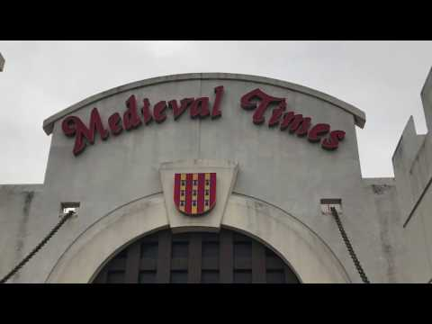 MEDIEVAL TIMES DALLAS TEXAS FAMILY TRIP PART 1