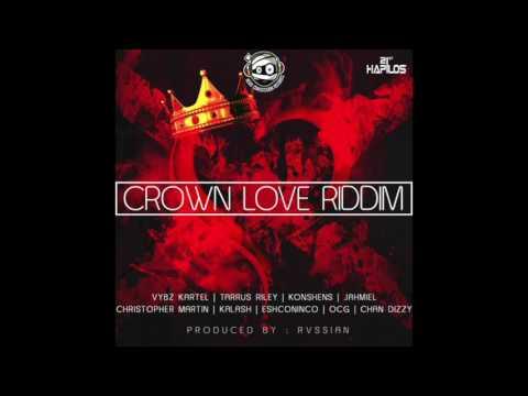 """CROWN LOVE"" RIDDIM MIX (HEAD CONCUSSION REC.) mixed by DaCapo (VYBZ KARTEL, KONSHENS & MORE)"