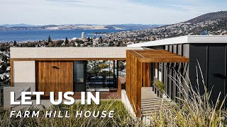 Amazing Views Of Hobart! The Farm Hill House West Hobart Tasmania | Let Us In ⚡ S01e25