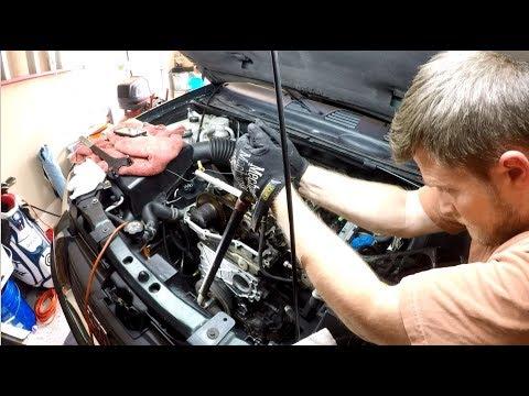 How to Install Harmonic Balancer – Envoy/Trailblazer (GM 4.2L Oil Pickup Tube Removal – Part 5)