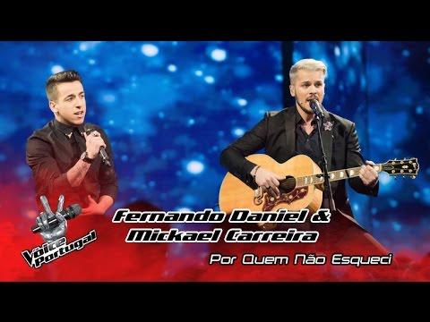 Fernando Daniel e Mickael Carreira - Por quem não esqueci   Gala Final   The Voice Portugal