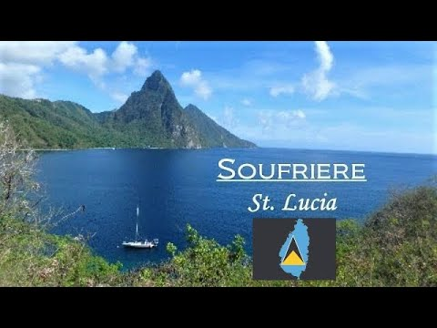 St Lucia - Soufriere, Castries, View Fort, Canaries, Gros Islet