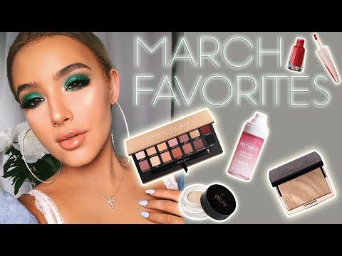 HOT BEAUTY PRODUCTS YOU NEED! | March Beauty Favorites ♡