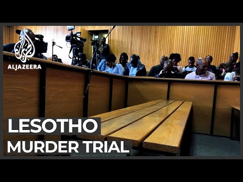 Lesotho PM fails to appear in court for wife's murder charge
