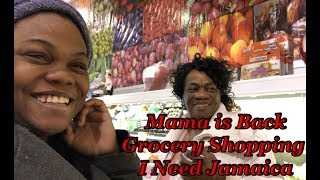 VLOG #18 Mama is Back|| Winter Grocery Shopping ||Fresh Produce