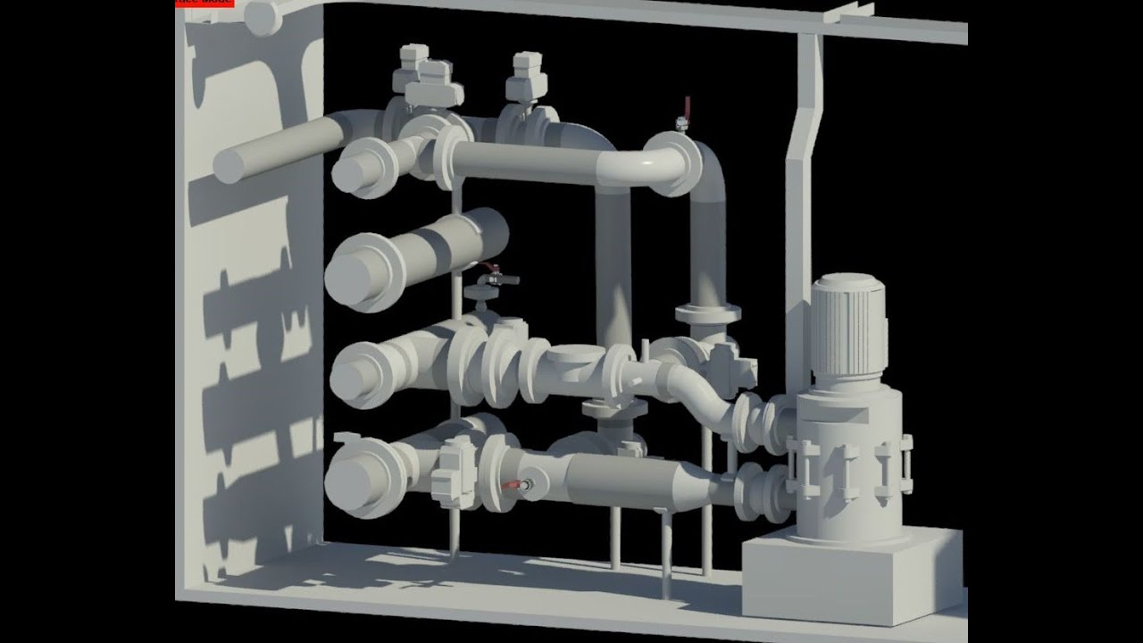 Scan to Bim modeling | Point cloud to Revit | Piping | MEP | Rvtcad.com