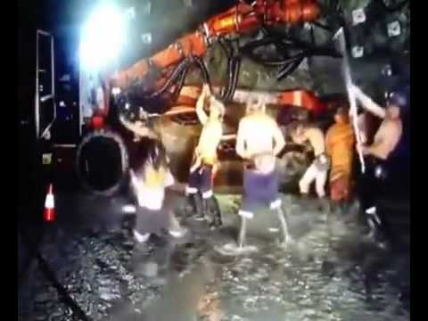 Miners Lose Jobs Over The Harlem Shake - [Original] HD