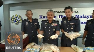 $70,000 of ivory products seized in Malaysia