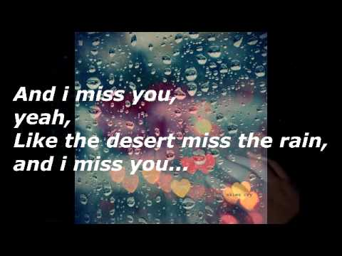 Everything but the girl-I miss you like the desert miss the rain with lyrics
