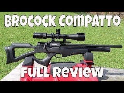REVIEW: Brocock Compatto Air Gun .22 - Power + Accuracy - Pest Control Air Rifle