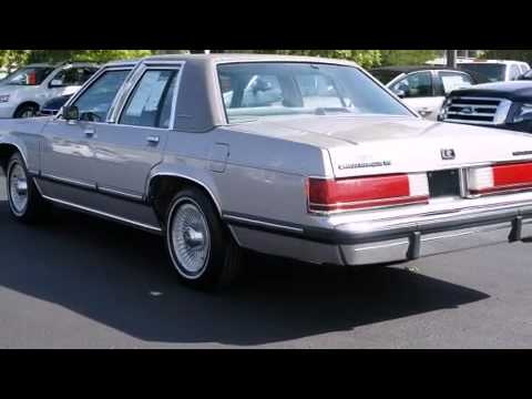 1991 Mercury Grand Marquis GS in Lawrence KS 66046 YouTube