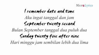 M2M - The Day You Went Away (Lyrics) (Indo Sub)