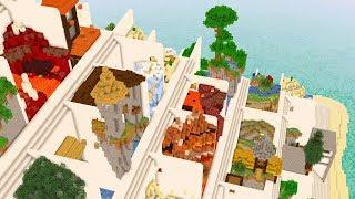 NOOB VS WORLDS BIGGEST MINECRAFT PARKOUR MAP...