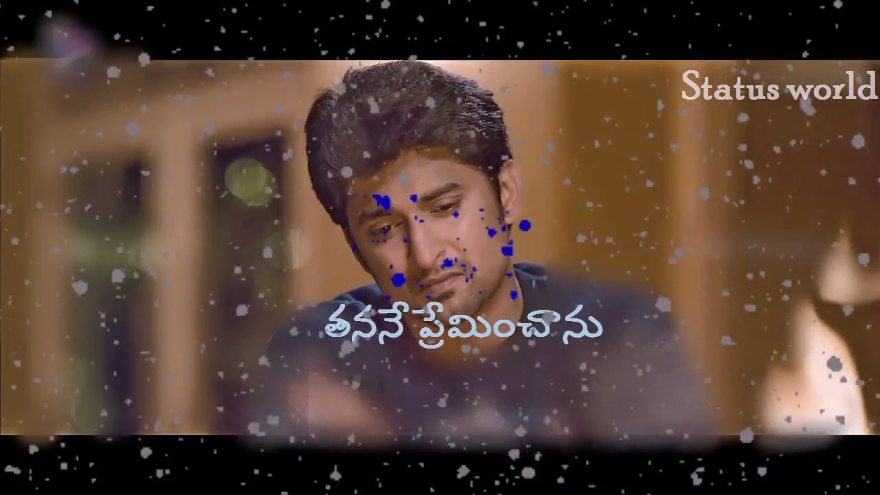 Best Whatsapp Status Video Telugu Love Failure Heart Touching