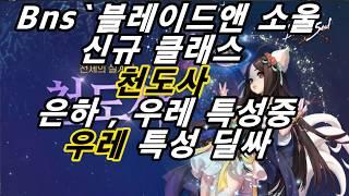 Bns `블레이드앤 소울 13번째 신규직업 천도사 은하,우레 중 우레 특성