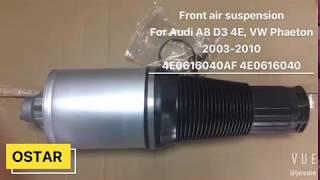 Volkswagen Phaeton /'02-16 Rear Suspension Strut Air Pressure Valve 3D0616001//02