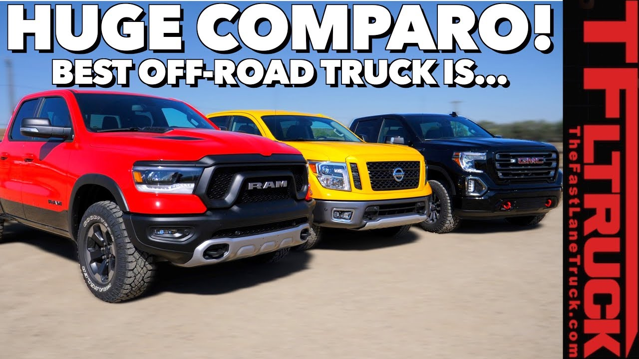 2019 Gold Winch Truck Competition: Which Pickup is the Best