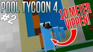 LASHES AND CHANGING ROOMS! -ROBLOX Pool Tycoon 4 English Ep 2