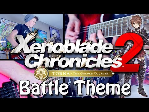 Battle!! - Xenoblade Chronicles 2 Torna ~ The Golden Country (Rock/Metal) Cover | Gabocarina96