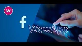 Como usar o Facebook no WowApp e Ganhar ao Mesmo tempo