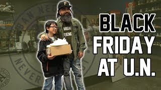 GIVING AWAY 15 PAIRS OF SHOES IN 1 DAY!!!! BLACK FRIDAY AT U.N.!!!!!!