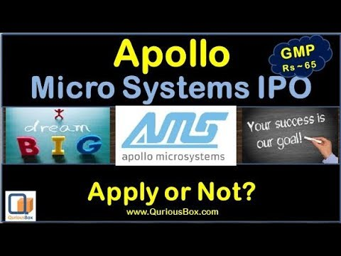Apollo Micro Systems Ltd IPO | Apollo Microsystems IPO | Apolo Micro Systems Details |Quriousbox