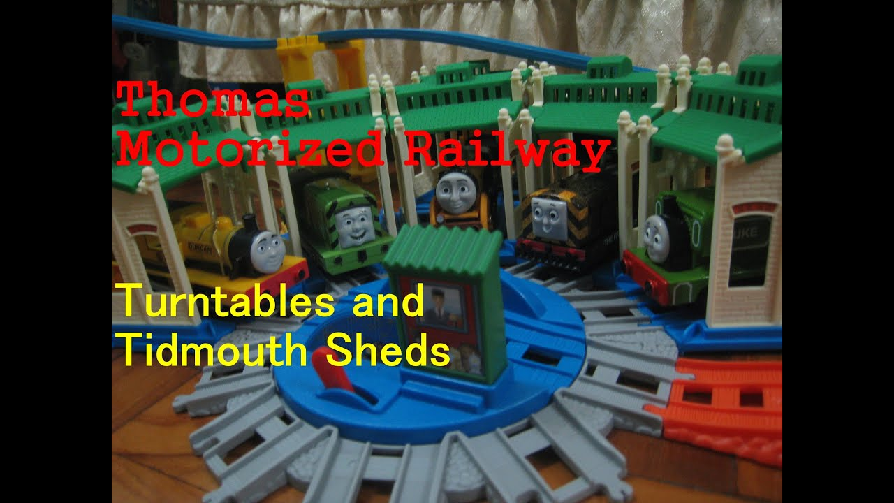 Thomas And Friends Motorized Railway Build Packs Tidmouth
